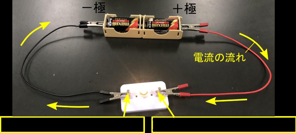 【電流って何?】豆電球に流れる前後の電流を調べて解明しよう!